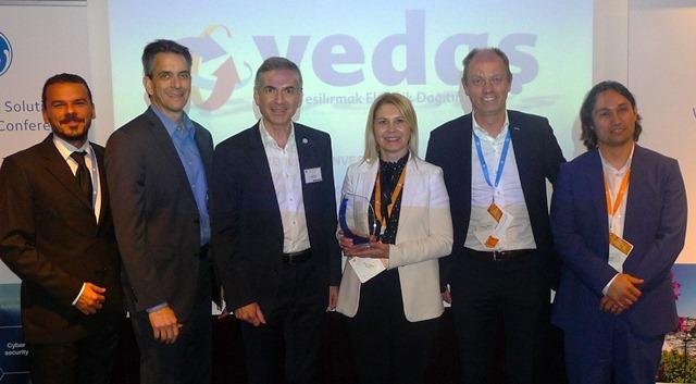 Yedaş'a Akıllı Şebeke Yönetimi ve İzleme Alanında En İyi Kullanıcı Ödülü