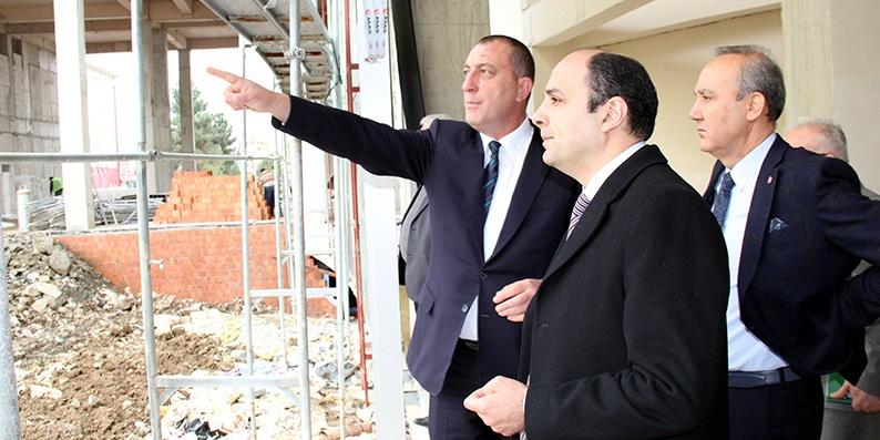Yeni Çarşamba Devlet Hastanesi inşaatı 6 ay içerisinde tamamlanacak