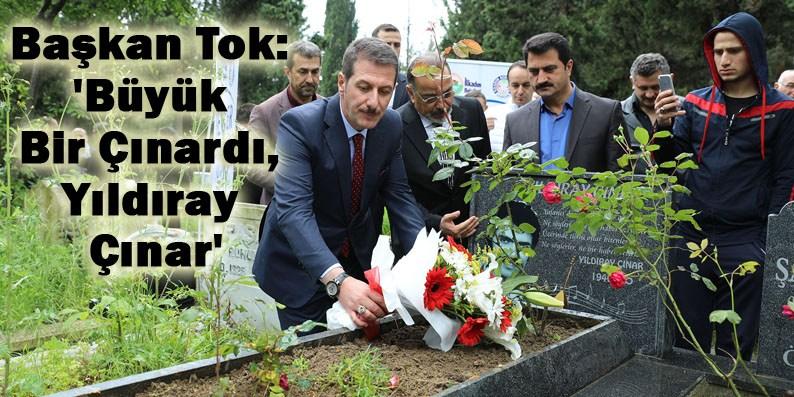 Yıldıray Çınar ölüm yıl dönümünde unutulmadı!