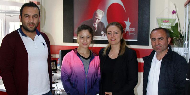 Yıldız Bayan Boks Türkiye üçüncülüğü Samsun'a