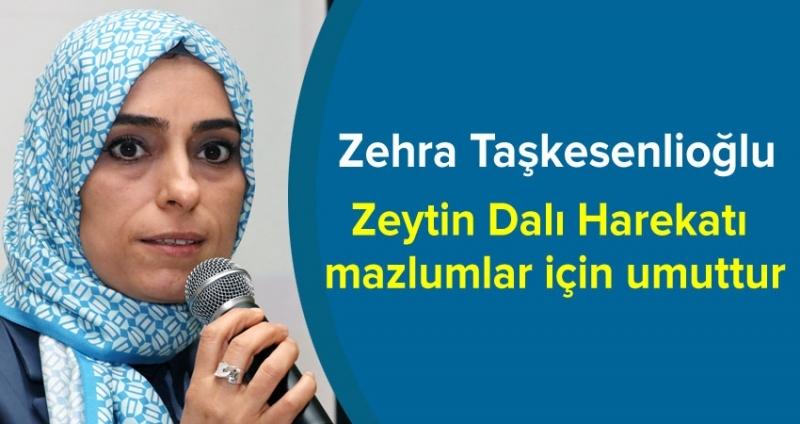 Zehra Taşkesenlioğlu Samsun'da konuştu