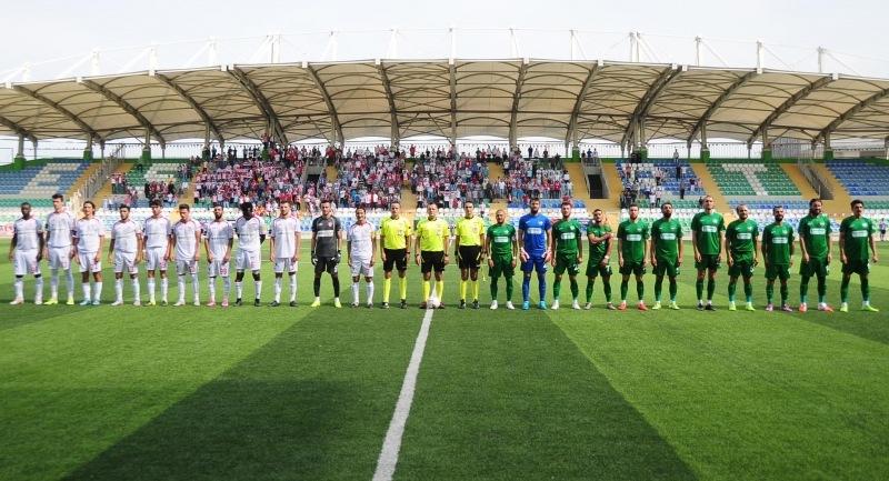 Ziraat Türkiye Kupası maçı Büyükçekmece Tepecikspor 2-1 Samsunspor