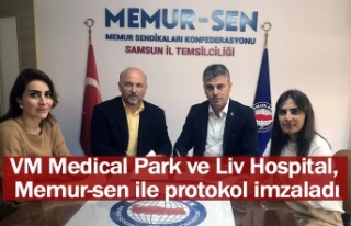 VM Medical Park ve Liv Hospital, Memur-sen ile protokol...