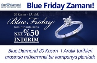 Blue Diamond ile Blue Friday Zamanı!