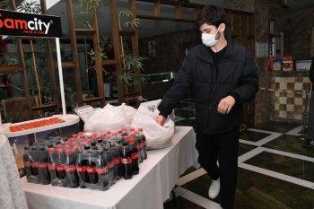 Samsun Büyükşehir'den sağlık çalışanlarına yemek desteği