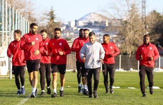 Samsunspor'da Eskişehirspor maçı hazırlıkları