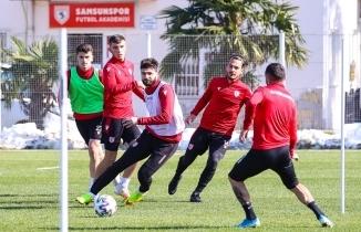 Samsunspor 6'ya 6 jokerli oyun çalıştı - Samsunspor Haber