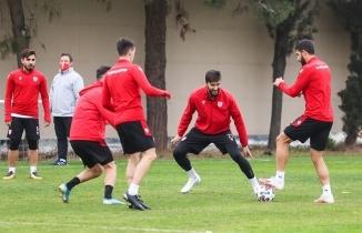 Samsunspor Akhisarspor maçı hazırlıklarına başladı