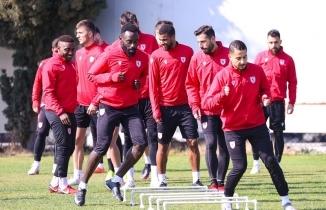 Samsunspor Adana Demirspor maçı hazırlıklarını sürdürüyor