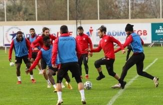Yılport Samsunspor Beypiliç Boluspor maçına hazırlanıyor