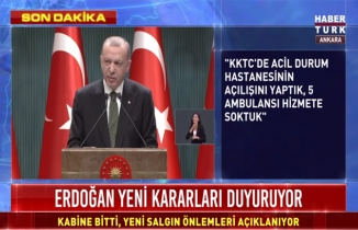 Cumhurbaşkanı Erdoğan açıklıyor, işte yeni salgın önlemleri