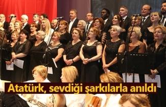 Atakum TSM'den 'Sevdiği Şarkılarla Atatürk' Konseri
