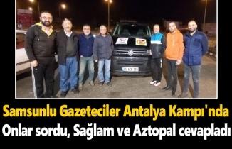 Gazeteciler sordu, Ertuğrul Sağlam ve Mustafa Aztopal cevapladı
