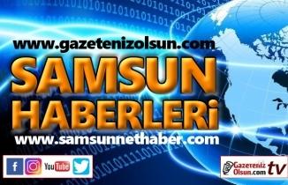 Samsun-Ankara karayolunda kar yağışı