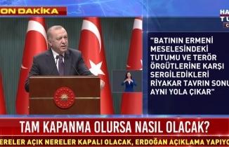 Yeni tedbirler alınacak mı? Cumhurbaşkanı Erdoğan açıklama yapıyor