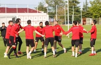Samsunspor'da Play-Off Yarı Final ilk maçı hazırlıkları