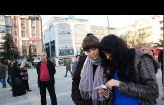 Samsun'da bir grup gençten farklı etkinlik