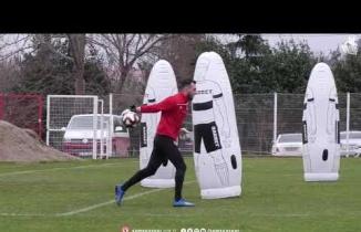 Samsunspor Kırklarelispor maçı hazırlıklarını sürdürüyor