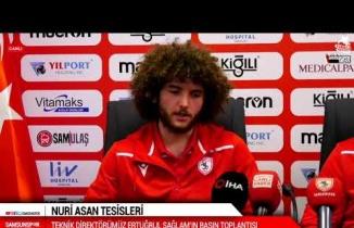 Samsunspor Teknik Direktörü Ertuğrul Sağlam'dan önemli açıklamalar
