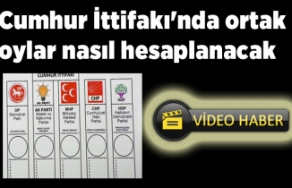 AK Parti ve MHP'nin oyları nasıl hesaplanacak