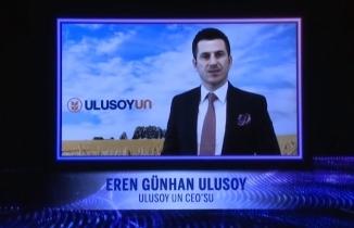 Ulusoy, Ekonomist'in Ödül Törenine Katıldı